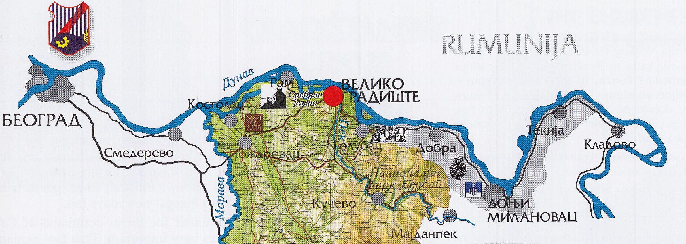 Opshti Podaci I Lokaciјa Opshtina Veliko Gradishte